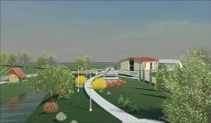 Projekt centra obce Davidov