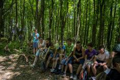 Výstup na vrch Mazolín 2015