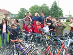 Cyklistický okruh Davidov - Cabov - Sačurov - Poruba - Davidov 06⁄2005